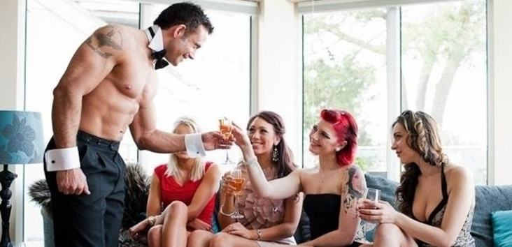 Picture of Topless Bartenders